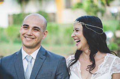 Dani & Matheus: casamento no campo com noiva boho chic maravilhosa!