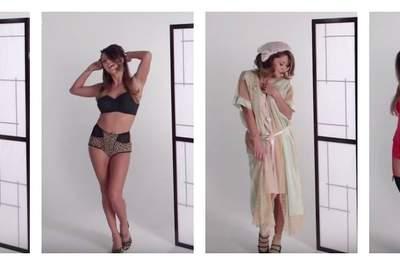 100 ans de lingerie féminine condensés en trois minutes !