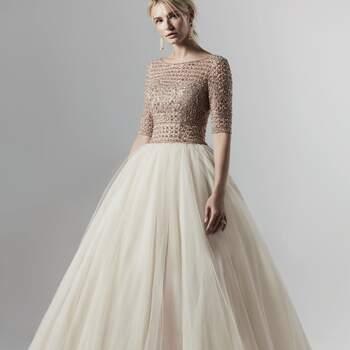 Créditos: Sottero & Midgley | Modelo do vestido: Allen Lynette