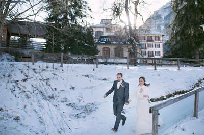 Ihre Winterhochzeit in Gstaad – Legere Eleganz im Herzen der Schweizer Alpen!