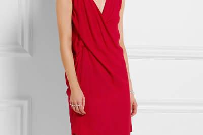 Короткие красные платья 2017: найдите платье мечты!