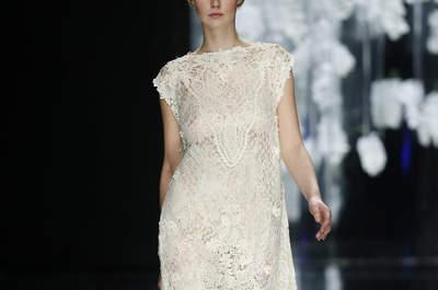 Vestidos de novia con encaje 2016: descubre el tejido que triunfa