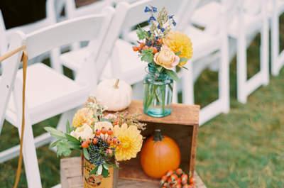 Detalles para tu boda en Halloween. Credits: Untamed Heart Photography