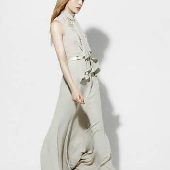 Os nossos 12 modelos preferidos da colecção Elie Saab Resort para o próximo Outono/Inverno, tingidos de preto e prata.