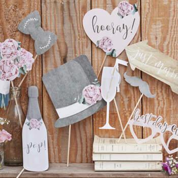 Atrezzo para Photocall mejor día- Compra en The Wedding Shop