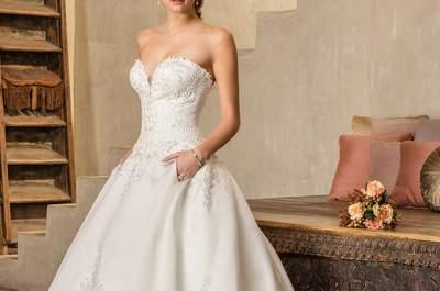 Suknie ślubne z rozszerzaną spódnicą! Wybierz swoją suknię razem z nami!
