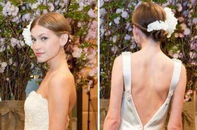Peinados tendencias nupciales para 2013 - New York Bridal Week