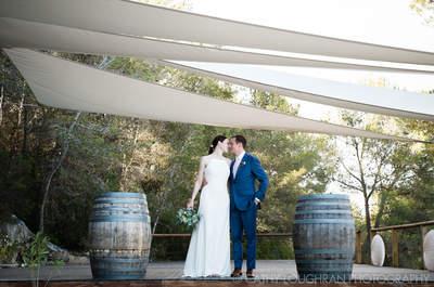 Así fue el matrimonio de Michael y Lauren: Una boda de ensueño en el corazón de Cataluña