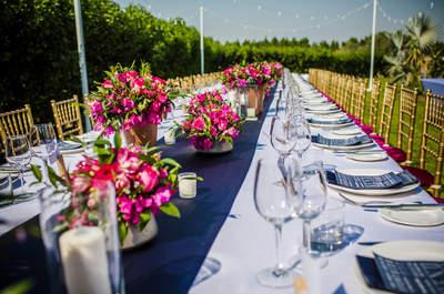 Una boda en Dubai repleta de buganvilla: así fue el enlace de Zoe y Oliver