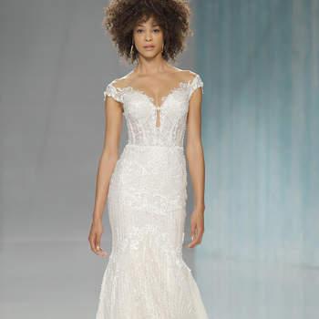 Vestidos de noiva ombro a ombro: lindos, atuais e elegantes!