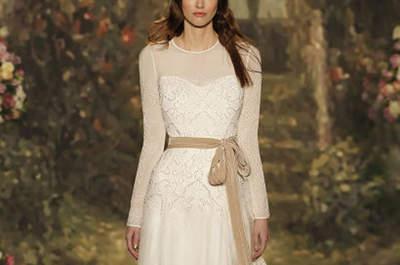 Hochgeschlossene Brautkleider 2016: stilvoll und romantisch!