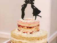 Figurki na torcie weselnym