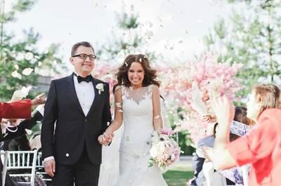 Весеннее вдохновение: шикарная свадьба Ольги и Сергея