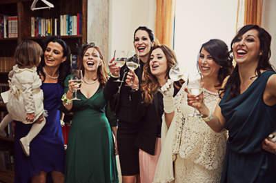 Des invitées au top et des enfants à croquer, les tendances cortège 2015