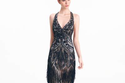 Aire Barcelona 2015 : des robes de soirée sophistiquées, élégantes pour une jolie invitée