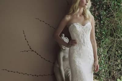 105 vestidos de novia de diseñadores internacionales. ¿Cuál es el tuyo?