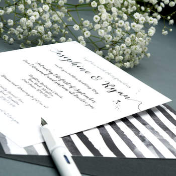 Credits: Vicky Perry Wedding Stationery