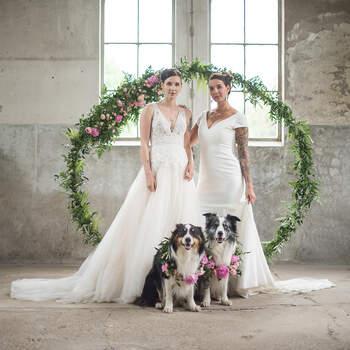 Styled Wedding Shoot: Blushing Vibes | Foto: Belinda Fotografie