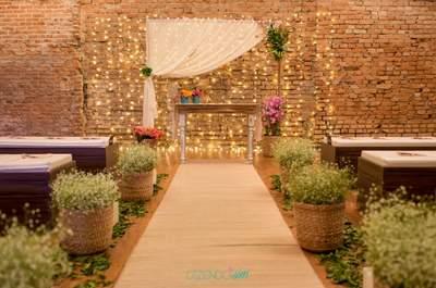 9 ideias para decorar o caminho até o altar: a passarela mais importante de todas!