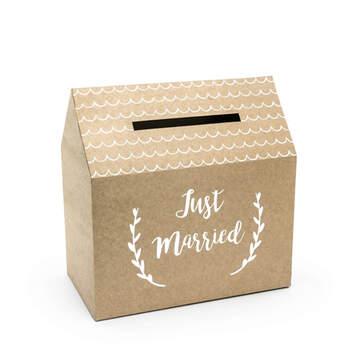 Caja para Cartas de Boda con Forma de Casa Vintage- Compra en The Wedding Shop