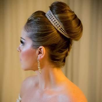 Cabelo de noiva preso | Credits: Sergio Ronaldo