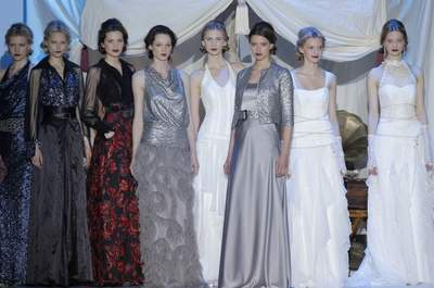 Inmaculada García 2014 : robes de mariée inspirée de la savane africaine