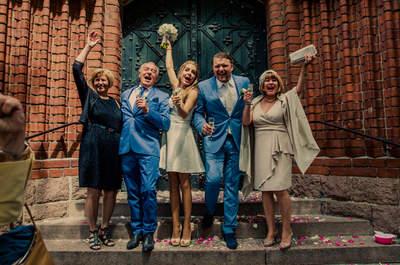 8 Konflikte, die es mit der Brautmutter oder Bräutigam-Mutter am Tag der Hochzeit geben kann