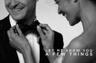 Viste como Justin Timberlake para el día de tu boda
