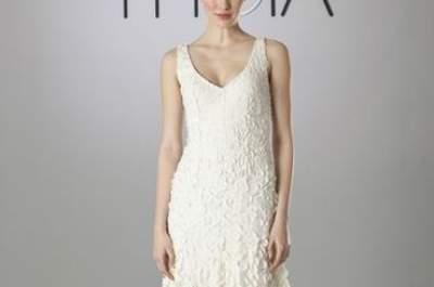 Vestidos de novia románticos 2014