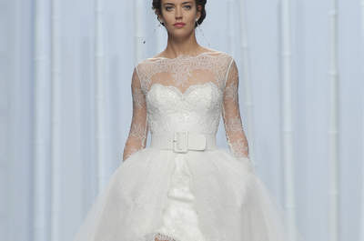 Descubre los vestidos de novia más espectaculares del desfile de Rosa Clará 2016