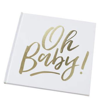 """Libro de Firmas Bautizo """"Oh Baby""""- Compra en The Wedding Shop"""