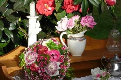 Une décoration de mariage tendance Bohème...