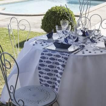 Rouleau De Table Poissons - The Wedding Shop !
