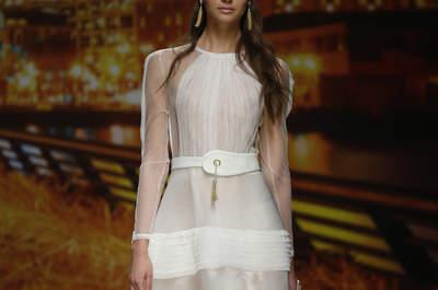 Vestidos de novia Inmaculada García 2016: frescura y elegancia
