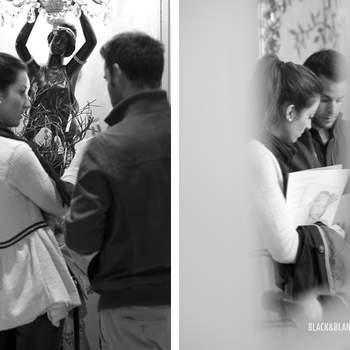 El evento abrió sus puertas a las 10 de la mañana y fueron varias las parejas que se quedaron allí hasta pasadas las 17 horas. ¡Una prueba del éxito de la cita! Foto: Belle Day. http://belleday.com/es/