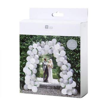 Arco De Globos Plata 80 Unidades - Compra en The Wedding Shop