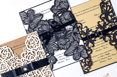 Muitas novidades em convites para casamentos em 2017: personalização e criatividade!