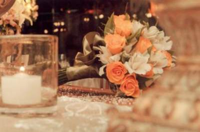 Um casamento em tons pastel: rústico, clean e elegante
