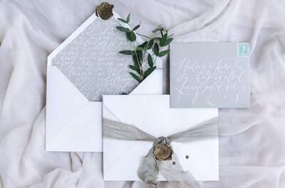 Все, что вам нужно для свадебной полиграфии: 5 основных элементов!