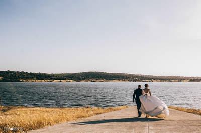 Cómo tener unas fotografías de boda divertidas y frescas, ¡enamórate de ellas!
