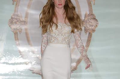 Vestidos de noiva Reem Acra 2015: New York Bridal Week