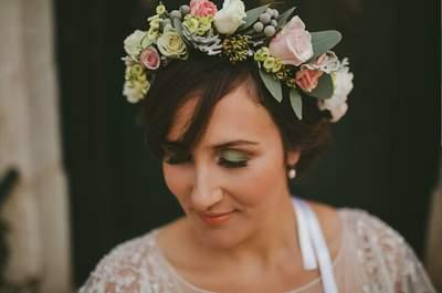 Makeup Jordana Carraça. Hair Styling Rita Vicente. Foto GoldenDays Wedding Photography Cedida por Monica Martins Herrmann