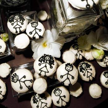 Galletas con la temática de la boda. Foto de Emin Kuliyev.