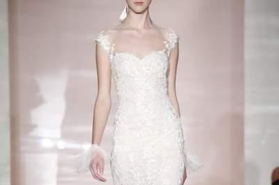 Vestidos de novia Reem Acra colección otoño 2014