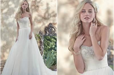 Maggie Sottero Brautmode im Frühling 2016: Strahlen Sie in einem dieser magischen Brautkleider!