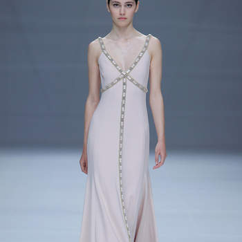 Cristina Tamborero. Credits: Barcelona Bridal Fashion Week