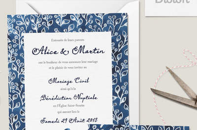 Comment choisir l'invitation de mariage idéale sur le site Dioton.fr ?