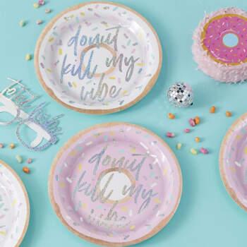 Platos Donuts 8 unidades- Compra en The Wedding Shop