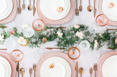 Más de 30 ideas para decorar las mesas de tu banquete. ¡Las últimas tendencias para ambientar tu buffet!