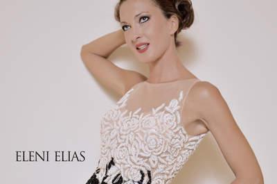 Glamour y sofisticación en la colección de vestidos de fiesta Eleni Elias 2016
